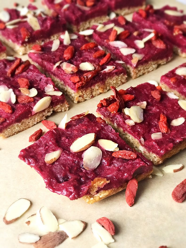 all-natural, paleo, gluten free ANTIOXIDANT RICH BERRY BARS