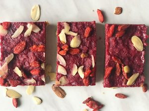Antioxidant Rich Berry Bars; paleo and gluten free