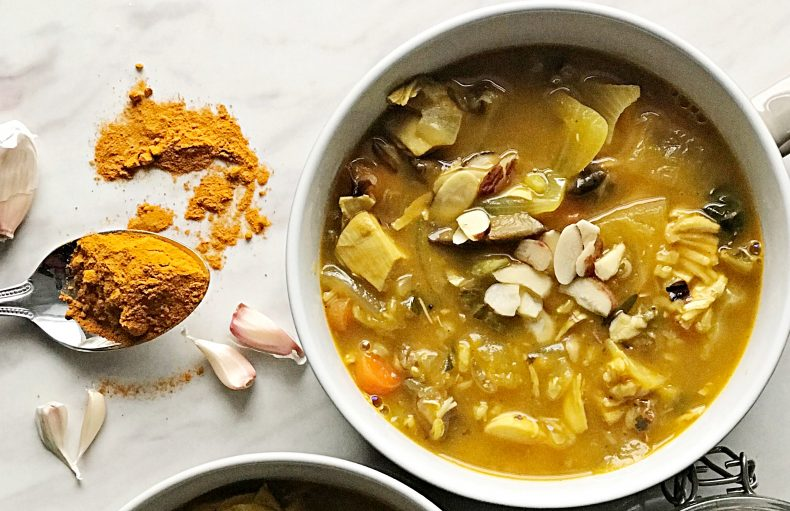 rotisserie chicken soup with turmeric